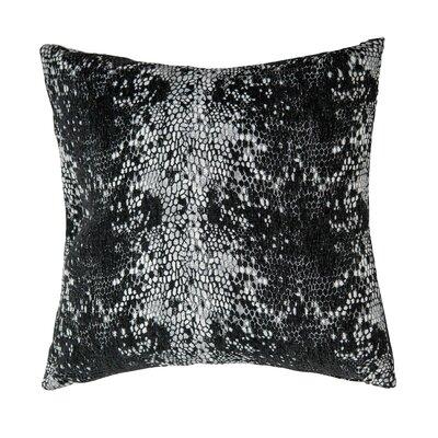 Columbia Throw Pillow Color: Noir