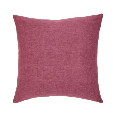 Dublin Throw Pillow Color: Raspberry