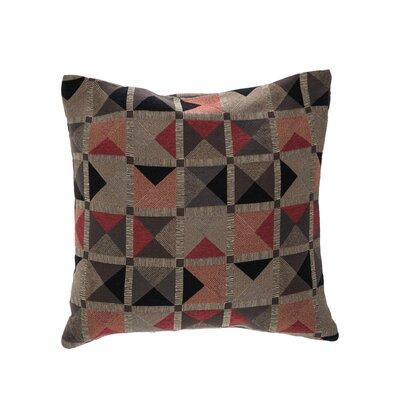 Capri Throw Pillow Color: Flame