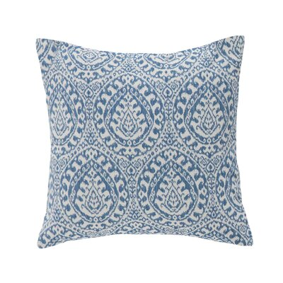 Granada Throw Pillow Color: Denim