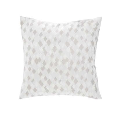 Hayden Throw Pillow Color: Linen