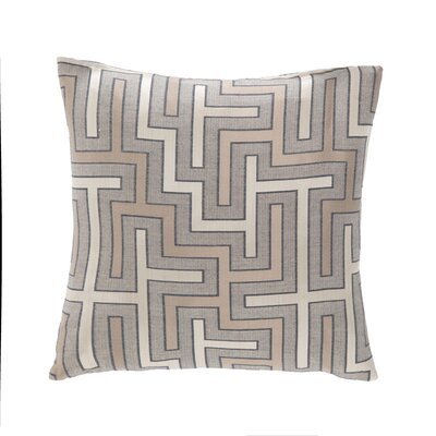 Bellevue Throw Pillow Color: Tussah