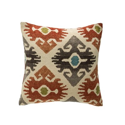 Utah Throw Pillow Color: Paprika