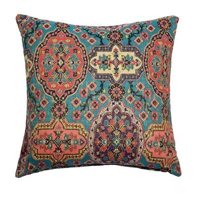 Dakota Throw Pillow Color: Malachite