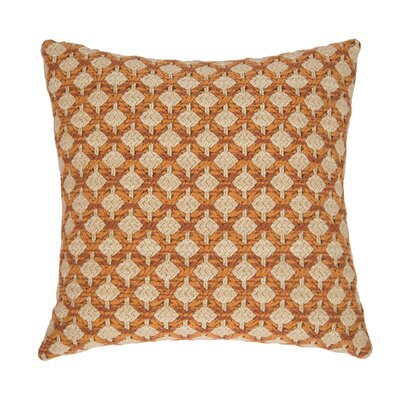 Colorado Throw Pillow Color: Tangelo