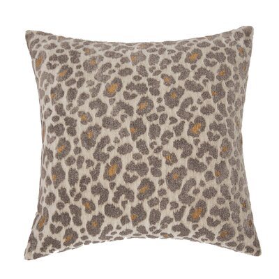 Wildlife Throw Pillow Color: Pewter