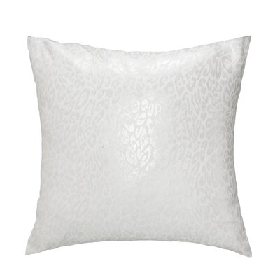 Gato Throw Pillow Color: Silver