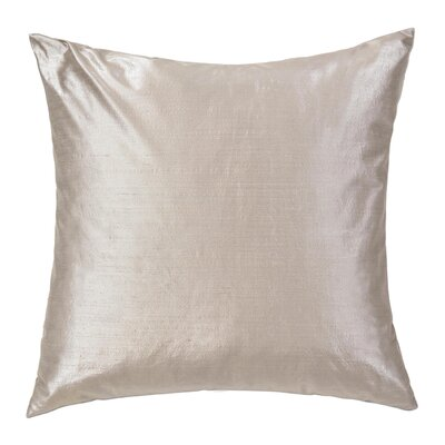 Hamilton Throw Pillow Color: Pewter