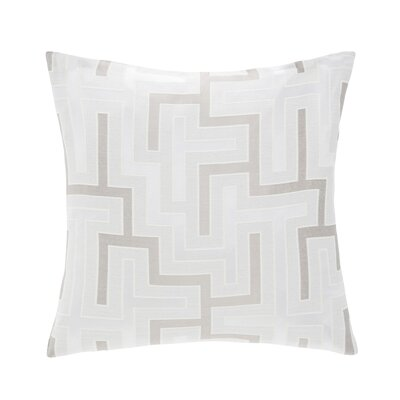 Bellevue Throw Pillow Color: Linen