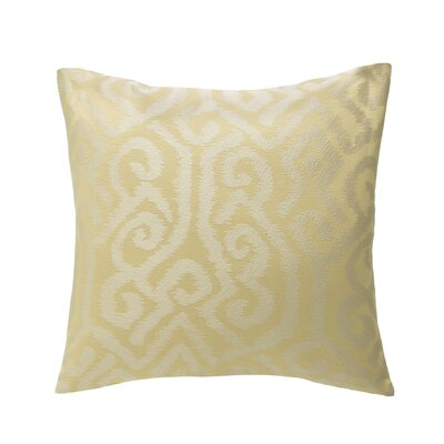 Brisbane Throw Pillow Color: Maize