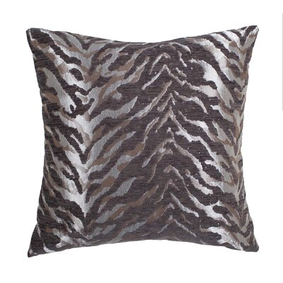 Cache Throw Pillow Color: Silver