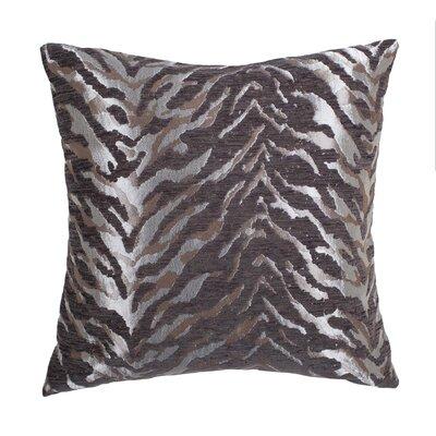 Cache Throw Pillow Color: Silver