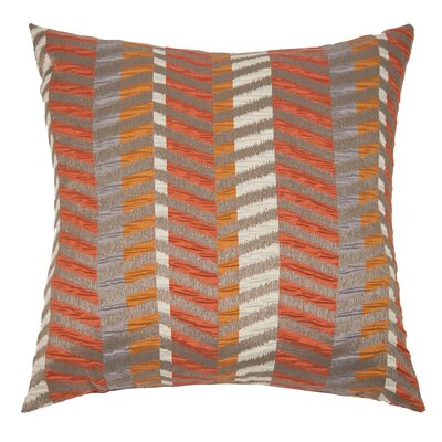 Metro Throw Pillow Color: Atomic