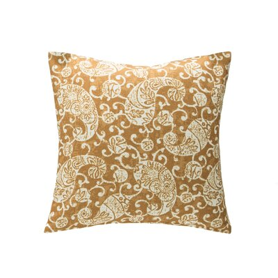 Kendari Throw Pillow Color: Ginger
