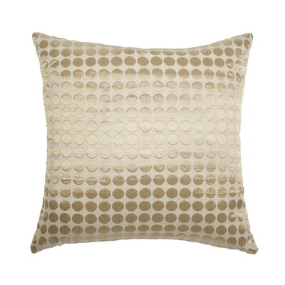 Cobblestone Throw Pillow Color: Gold