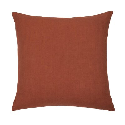 Dublin Throw Pillow Color: Coral