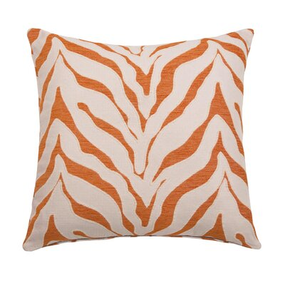 Casablanca Throw Pillow Color: Tangerine