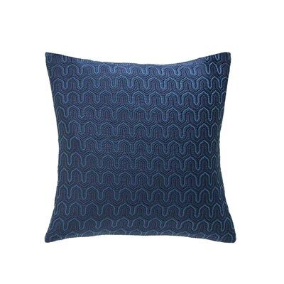 Parma Throw Pillow Color: Indigo