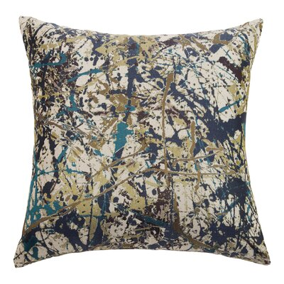 Painter Throw Pillow Color: Denim