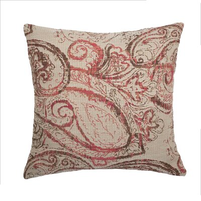 Dynasty Throw Pillow Color: Rosewood