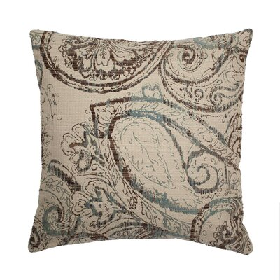 Dynasty Throw Pillow Color: Oasis