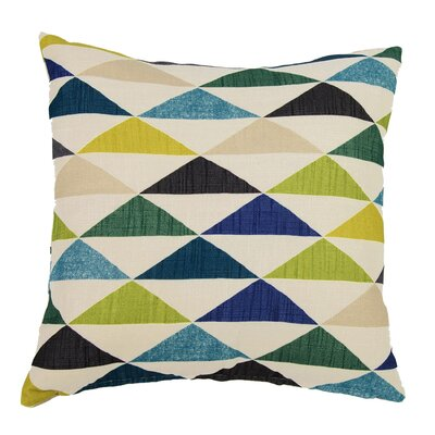 Zachary Throw Pillow Color: Caribbean