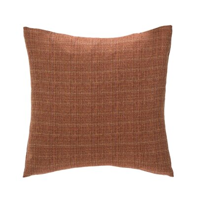 Radiance Throw Pillow Color: Brick
