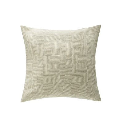 Knox Throw Pillow Color: Natural