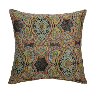 Evans Throw Pillow Color: Noir