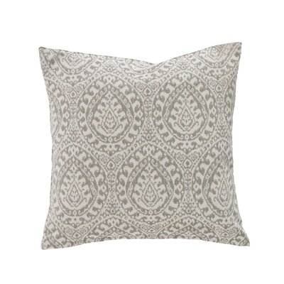 Granada Throw Pillow Color: Sterling
