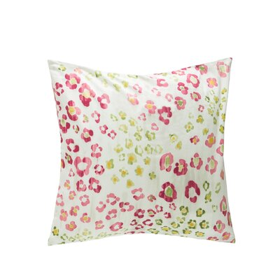 Lynx Throw Pillow Color: Orchid