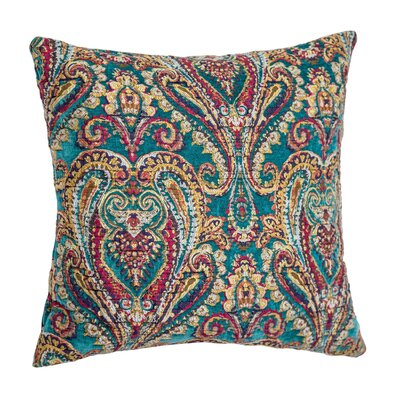 Hudson Throw Pillow Color: Turquoise