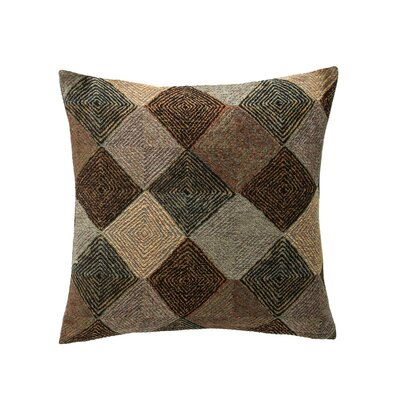 Navajo Throw Pillow Color: Black