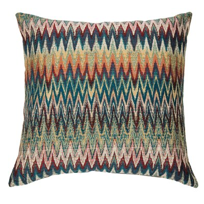 Maui Throw Pillow Color: Heat