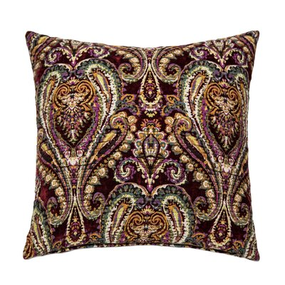 Hudson Throw Pillow Color: Merlot