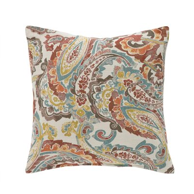 Penelope Throw Pillow Color: Tango