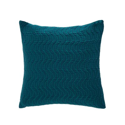 Sorrento Throw Pillow Color: Cerulean