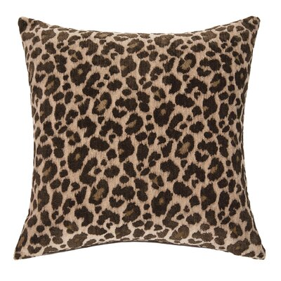 Wildlife Throw Pillow Color: Cheetah