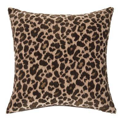 Wildlife Throw Pillow Color: Cheetah