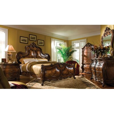 Palais Royale Panel Configurable Bedroom Set