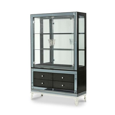 Hollywood Swank China Cabinet