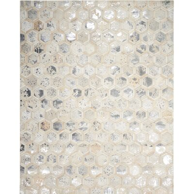 City Chic Hand-Woven Beige Area Rug Rug Size: Rectangle 8 x 10