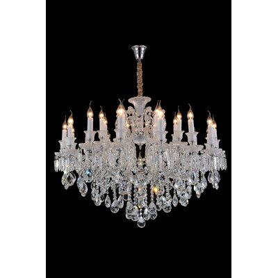 Chambord 25-Light Crystal Chandelier