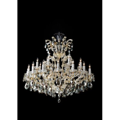La Scala 25-Light Crystal Chandelier