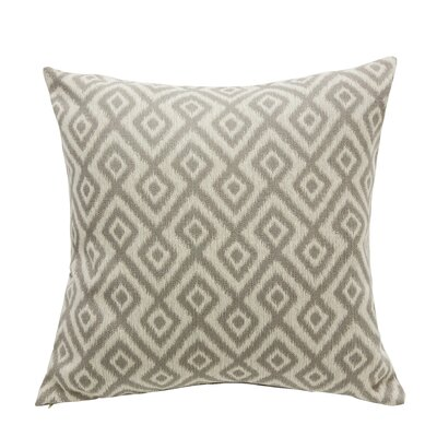 Tripoli Throw Pillow Color: Dove