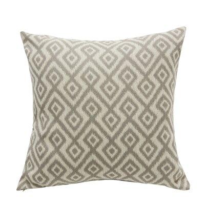 Tripoli Throw Pillow Color: Dove