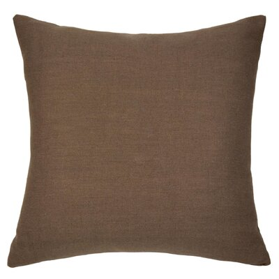 Dublin Throw Pillow Color: Cocoa