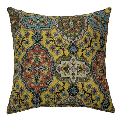 Dakota Throw Pillow Color: Maize