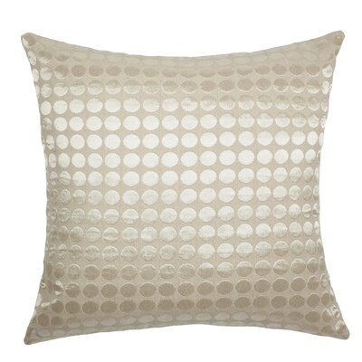 Cobblestone Throw Pillow Color: Snow