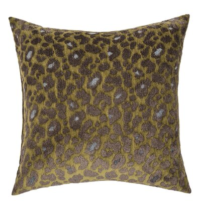 Wildlife Throw Pillow Color: Jungle